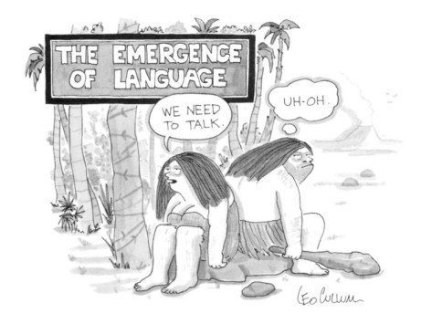 the-emergence-of-language-cave-woman-we-need-to-talk-caveman-uh-oh-new-yorker-cartoon