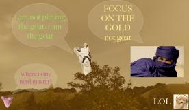 Dronesville #10 goat n gold